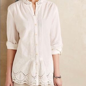 Anthropologie Isabella Sinclair Blouse Size L